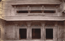 North façade of the first court of the Man Mandir Palace, Gwalior 10031438